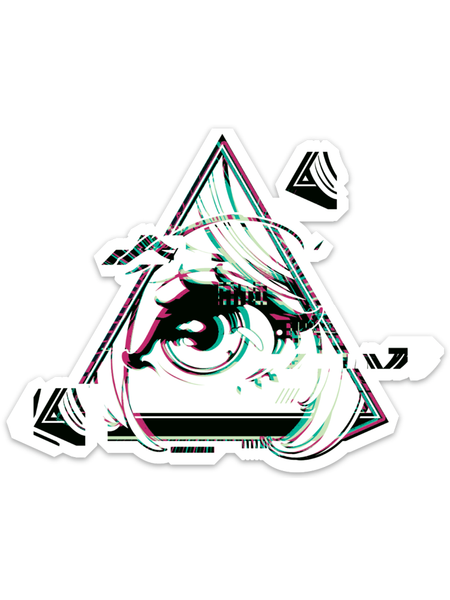 Glitched Animason Sticker -  Sticker - Invasion Club