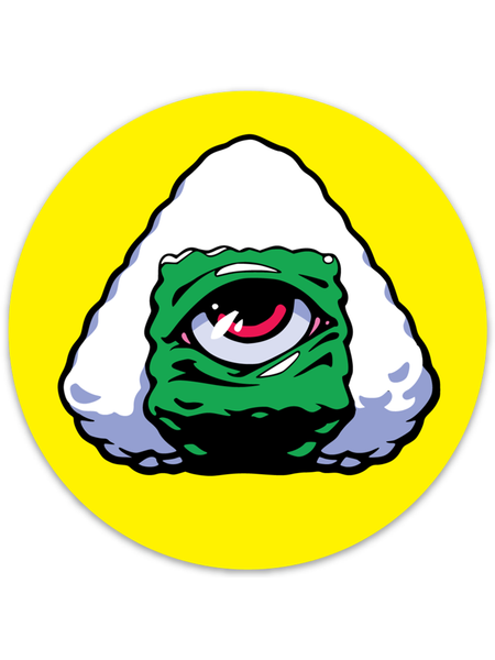 Onigiri Mason Sticker -  Sticker - Invasion Club