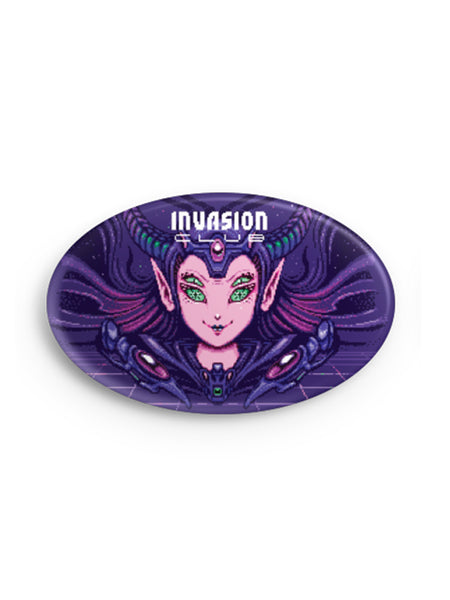 16 BITch Oval Badge -  Pin Badges - Invasion Club