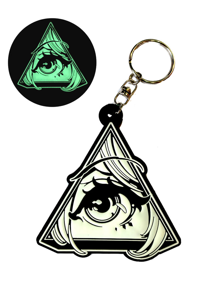 Animson Glow-in-the-dark Key Holder -  Key Holder - Invasion Club