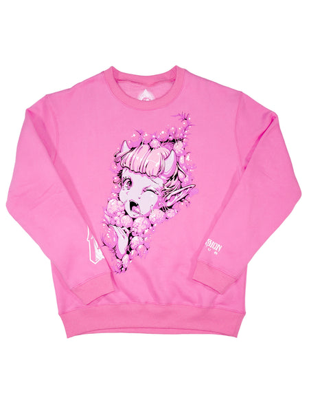 Pink Crush Pullover -  Outerwear - Invasion Club