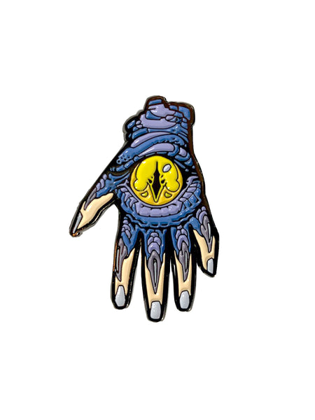 Chapi Monster Hand Enamel Pin -  Enamel Pin - Invasion Club