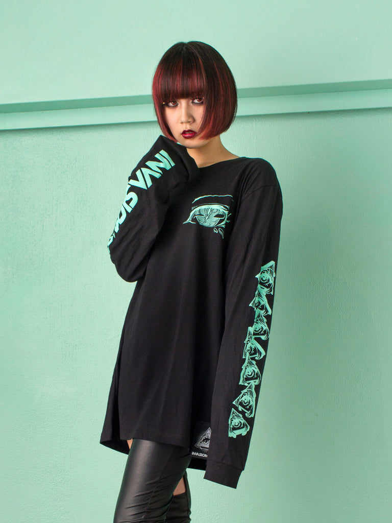 Eyes Long Tee -  Shirt - Invasion Club