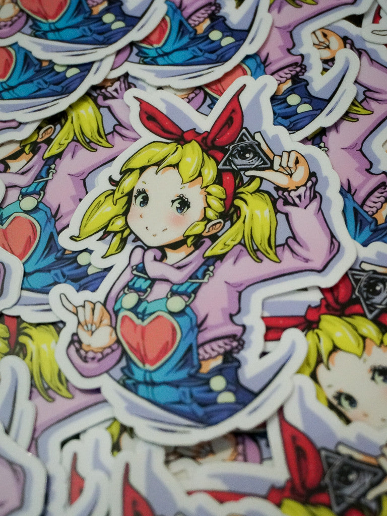 Miki Chan Sticker -  Sticker - Invasion Club