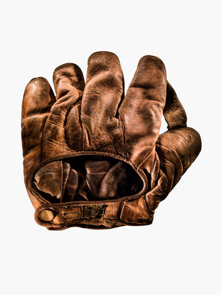 Fine Art Print - J.A. PEACH U.S. ARMY GLOVE, C. 1917 BACK VIEW