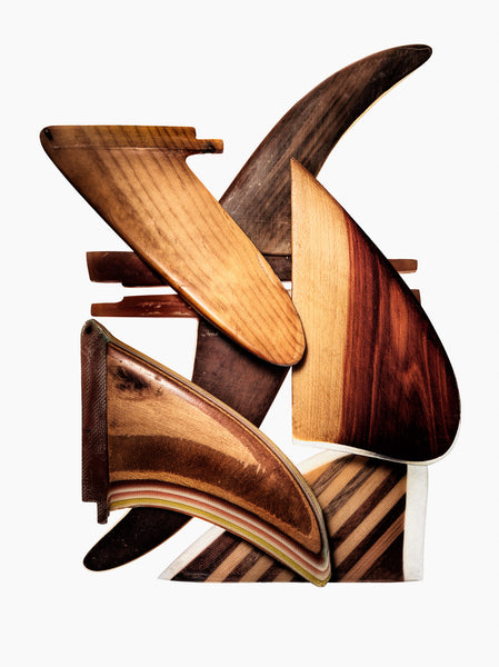 Fine Art Print - Wood Fin Composition