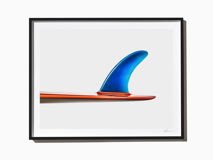 Fine Art Print - Jeff Hackman Plastic Fantastic Single Fin, 1969.