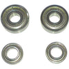 Space Scooter (x580) ­ Bearings for rear wheel (set 2x2 pcs)