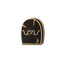 Fryday ¯\_(ツ)_/¯ Shrug Gravestone Lapel/Enamel Pin