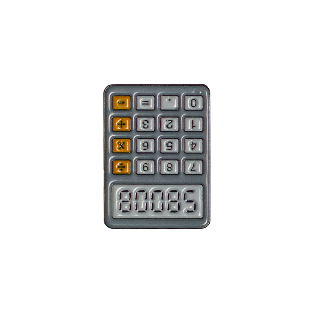 Fryday Calculator Boobs 80085 Lapel/Enamel Pin