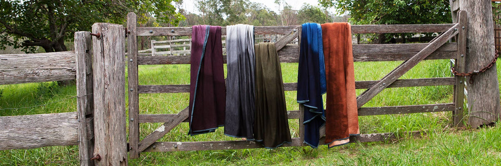 Pepa Collection Throws 100% Australian Merino wool