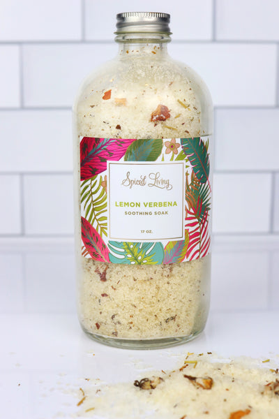 Lemon Verbana Soothing Soak- 17 oz