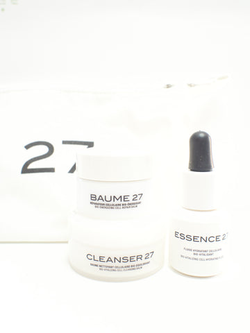 Cosmetics 27 SOS kit Baume Cleanser Essence