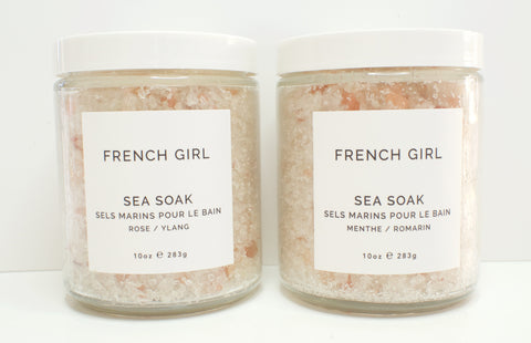 French Girl Sea Soak Mint Rose
