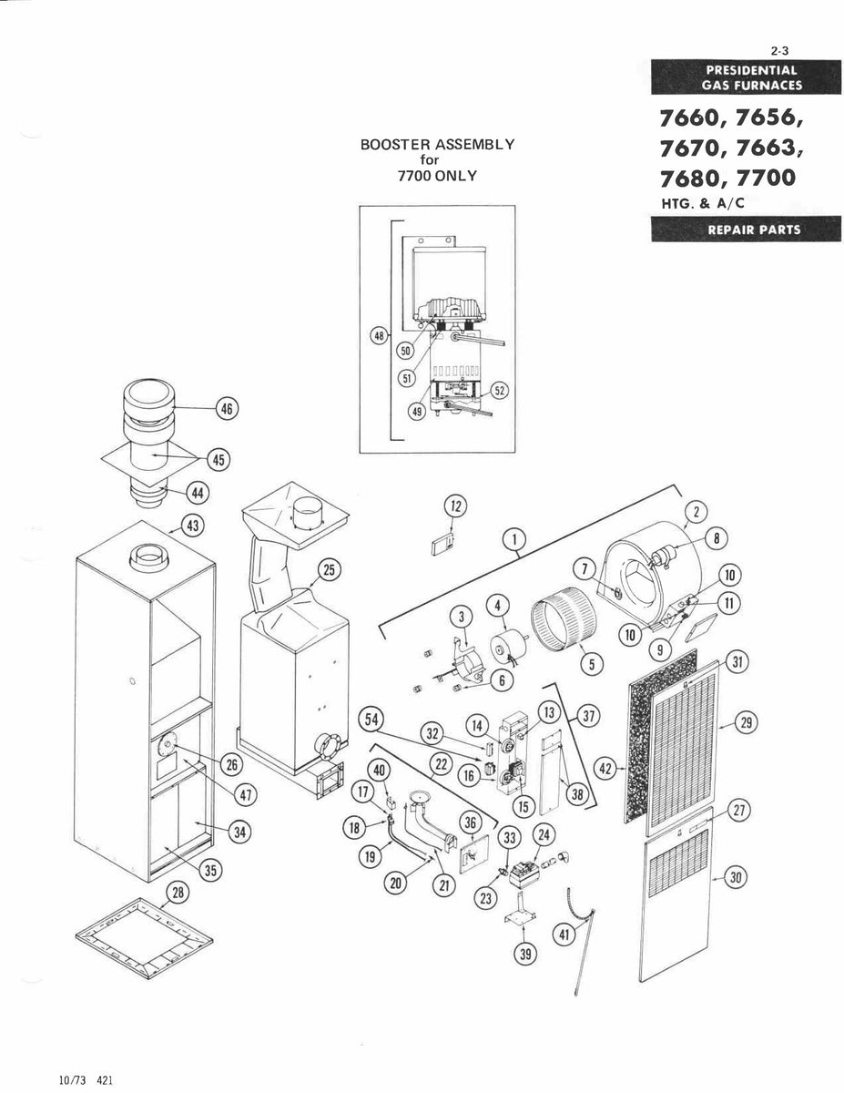 7656F856 Coleman Gas Furnace Parts – Page 2