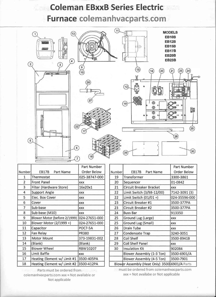 Blower Motor Wiring Diagram For Eb17b Furnace - wiring ... on
