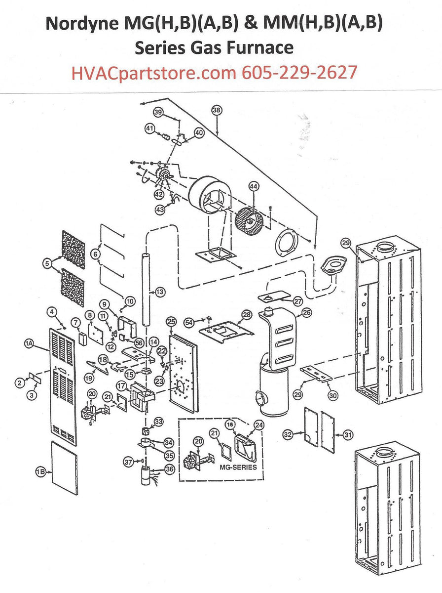 MGMMDiagram_1200x1200 York Gas Furnace Wiring Diagram Single Rod on