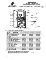 DGAD060CDK Coleman Gas Furnace Parts
