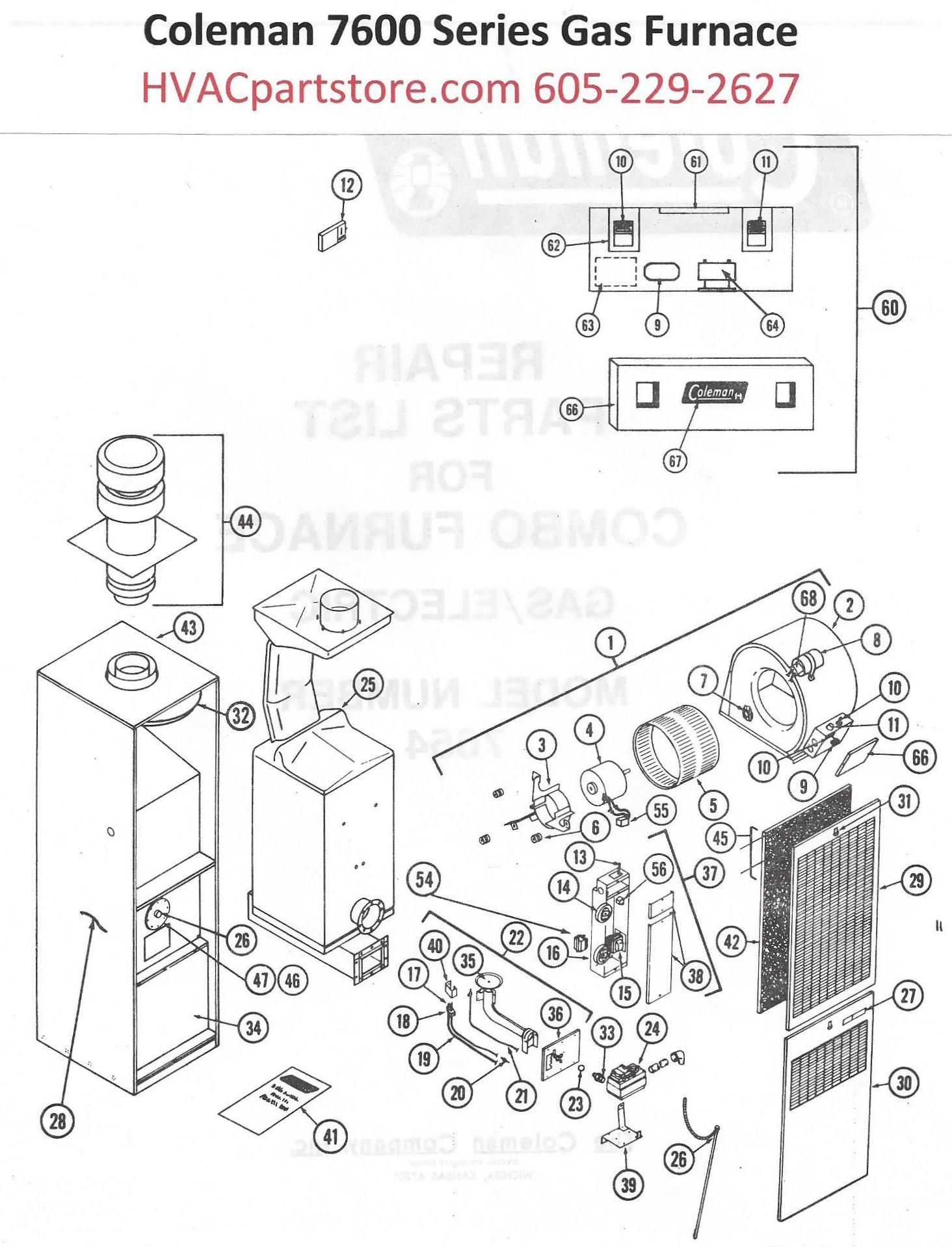 Coleman 7900 Furnace Wiring Diagram : 35 Wiring Diagram