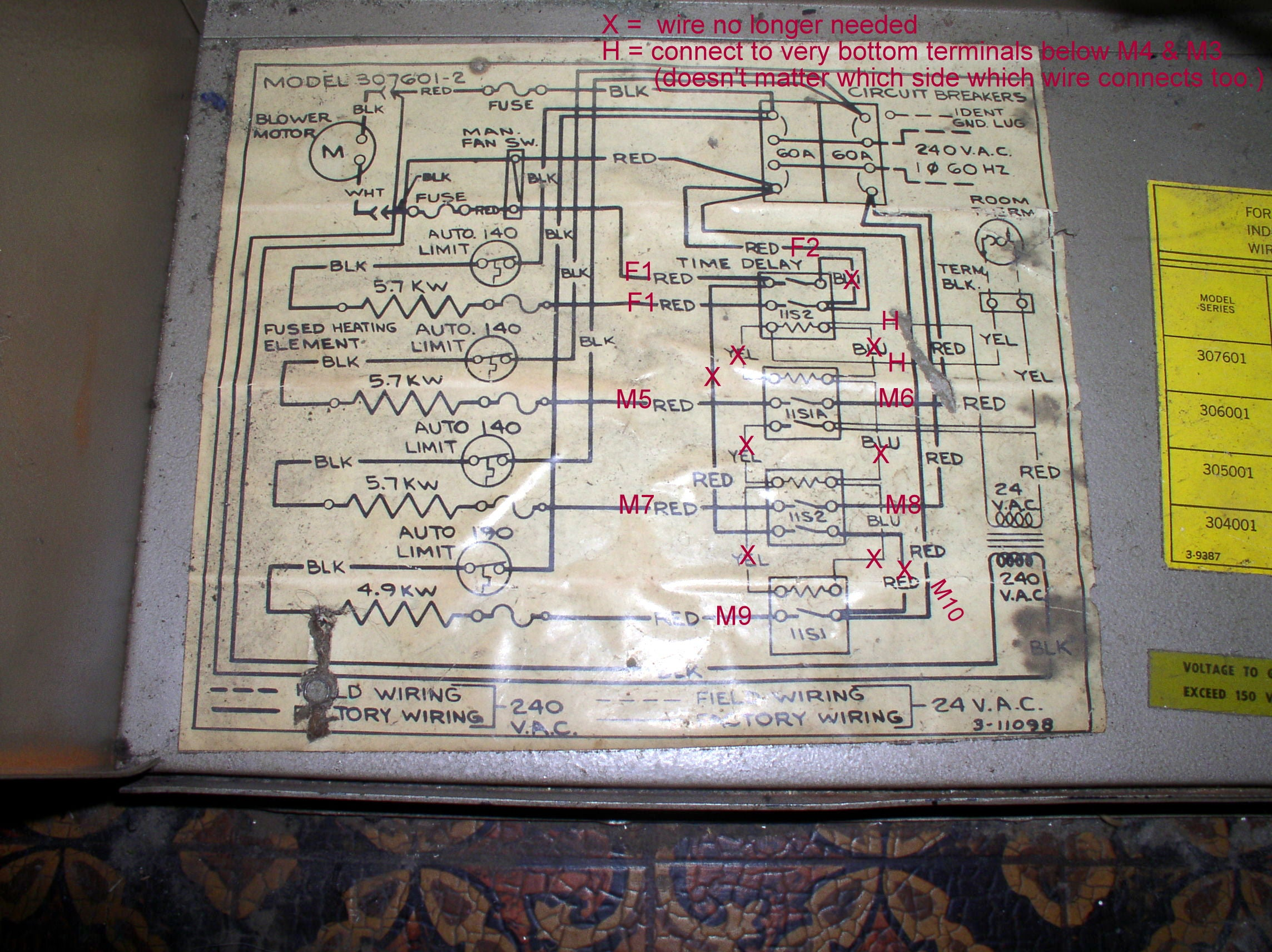 How To Wire An Air Conditioner For Control 5 Wires Readingratnet ...