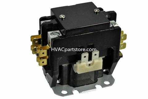 contactor 25 amps 24V coil 2 pole