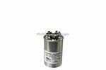 dual round high quality metal run capacitor 20+15 MFD 370-440V