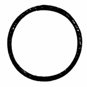 "1-11/16"" medium high-heat burner sight gasket G-181"