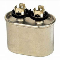 7.5 MFD 370-440V oval high quality metal run capacitor USA made POCF7.5A