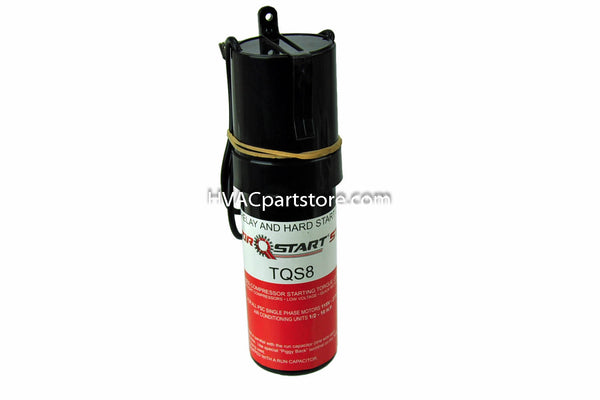 130-156MFD 115-227V 600% boost hard start kit TorQStart TQS8