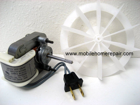S97012041 bath fan motor & wheel