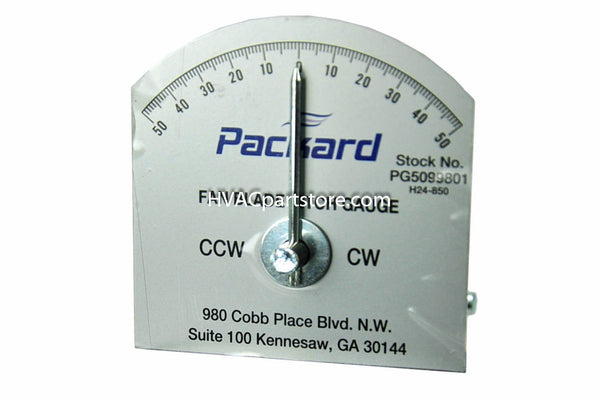 Fan blade pitch gauge Packard PG5099801