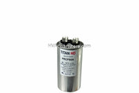 round metal run capacitor 60 MFD 370-440V