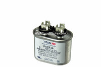 oval run capacitor 3 MFD 370-440V