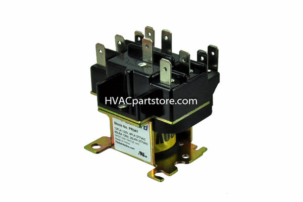 pr341 packard switching relay 110 120 coil voltage hvacpartstore rh hvacpartstore myshopify com Simple Relay Switch Wiring Diagram Starter Relay Wiring Diagram