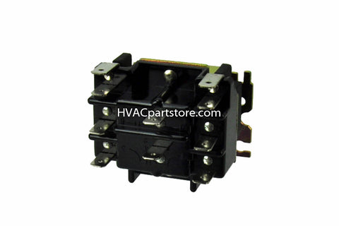 pr341 packard switching relay 110 120 coil voltage hvacpartstore 5 Wire Switch Wiring Diagram 90 341 relay switch wiring diagram