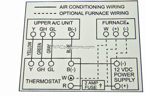 Coleman Mach Thermostat Wiring Diagram: 7330G3351 Coleman Mach analog RV thermostat u2013 HVACpartstore,Design