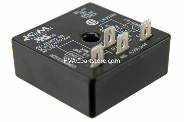 5-minute time delay relay Rheem  42-22655-02