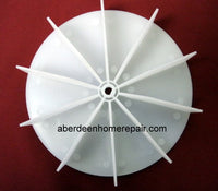 "4-5/8"" 3/16"" D-shaped bore Broan paddle wheel FB460"