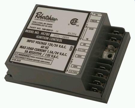 HSI ignition control module for water heaters by Robertshaw 780-790