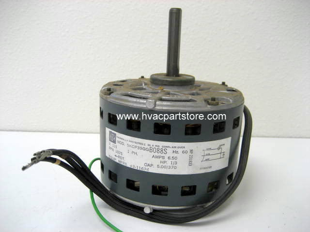 "5.5""blower motor 1/3hp 115v 1-speed duo-therm 3-11624"