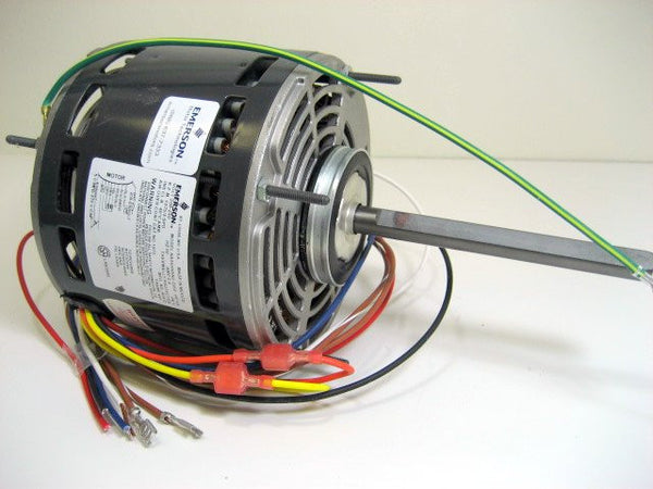 "1863 Emerson 5-5/8"" Blower Motor 1/4HP 115V 3-Speed"