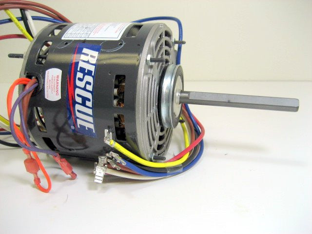 "5 5/8"" blower motor multi-horse 230V  4-speed emerson 5461"