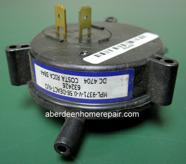 pressure switch .58 nordyne 632426R
