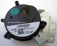 Nordyne .60 pressure switch  632499