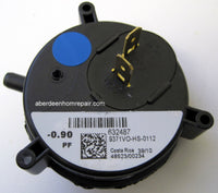 pressure switch .90 Nordyne 632487
