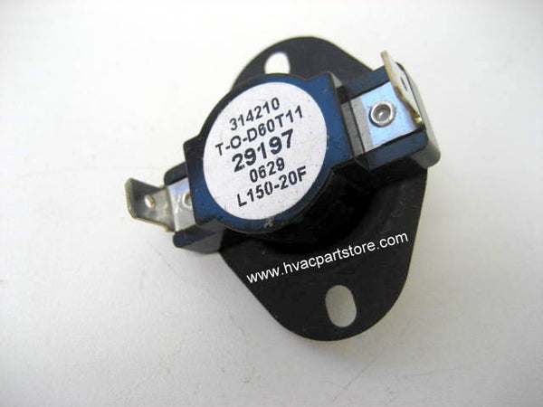 Coleman L150-20F limit switch 025-37362-000