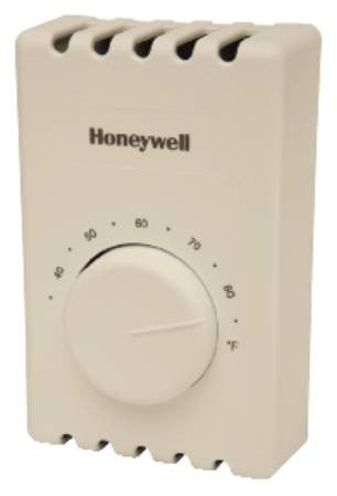 Honeywell thermostat line voltage DPST T410B1004