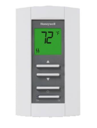 Honeywell thermostat non-programable line voltage DPST TL7235A1003