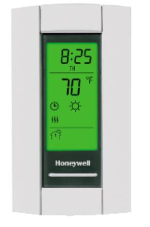 line voltage programmable thermostat DPST Honeywell TL8230A1003