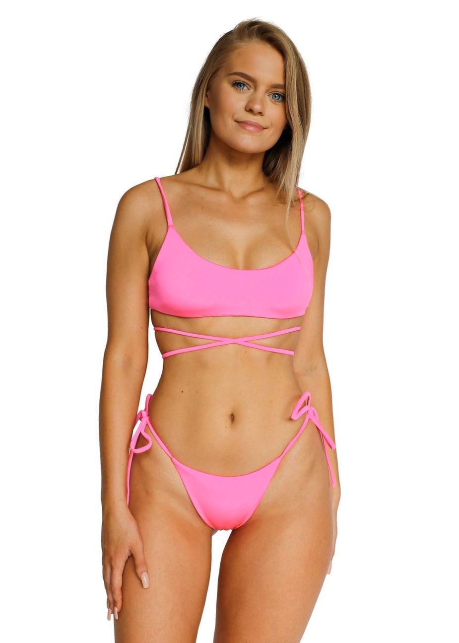Maxine Top | Lucid Pink